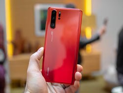 This is the Huawei P30 Pro – the phone with four cameras!