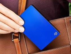 Take everything with you on a discounted Seagate Backup Plus 5TB hard drive