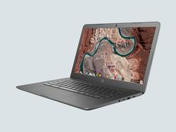 Snag HP's refurbished Chromebook 14 at $115 off today in gray or white
