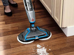 Use a hardwood mop to clean and protect your floors