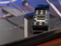 Caavo's universal remote and 4K home theater hub comes with a lifetime service plan and $50 discount