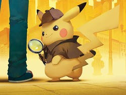 Solve mysteries with half off the Detective Pikachu game for Nintendo 3DS