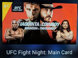 Watch Iaquinta-Cowboy on UFC Fight Night May 4 in the USA