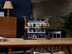 Stranger Things LEGO set can be flipped to reveal the Upside Down