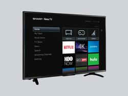 Binge your favorite shows with Sharp's 50-inch Roku TV down a new low price