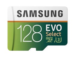 Samsung's 128GB Evo microSD card is only $20 right now