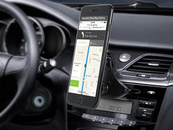 This $6 Veckle Phone Mount uses your car's CD slot