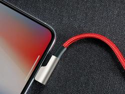 Stock up on AUKEY's durable braided nylon Lightning cables with two for $8