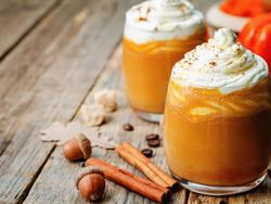 You know you want to: It's pumpkin spice coffee time