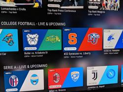 Watch College Football games online with ESPN+