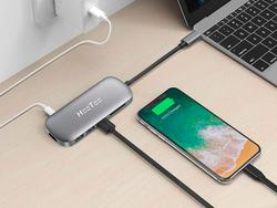 This HooToo USB-C Hub can turn one port into six at 50% off