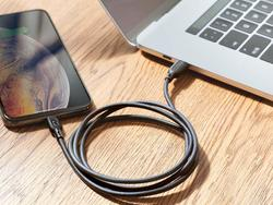 Charge up your iPhone faster with RAVPower's $10 USB-C to Lightning cable