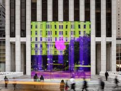 Check out more eye-popping images of Apple's iridescent Fifth Avenue store