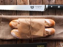 Cut your crusts like a pro with these specialist serrated bread blades