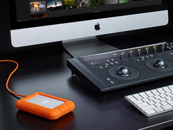 Get storage and speed with over $100 off LaCie's rugged 1TB Thunderbolt SSD