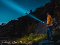 Shine a light anywhere with an indestructible tactical flashlight