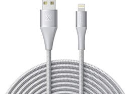 This well-rated Xcentz 10-foot Lightning cable is only $10 today