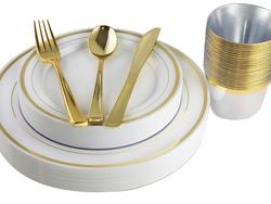 Forget a sink of dirty dishes with this awesome disposable dinnerware