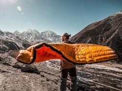 Snuggle up in the comfiest sleeping bag on the planet