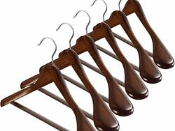 Get your clothes off the ground with new hangers