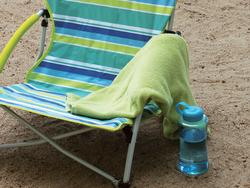 Get comfortable on the shore with these beach chairs