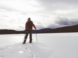 Pick up a new pair of snowshoes and show winter who's boss