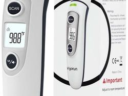 Take an accurate temp the easy way with a forehead thermometer