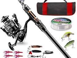 Extend your fishing fun with these telescoping fishing rods