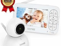 HOMMIEE: the 720P Wireless Video Baby Monitor of your dreams