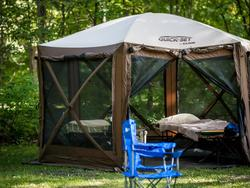 Stay comfy outdoors with these popup canopy tents
