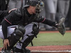 A baseball catcher's best defence is a safe helmet