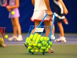 Keep all your tennis balls close as you practice
