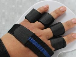 Recovering from a finger injury is quicker with a proper splint
