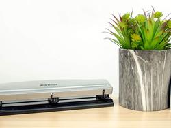 3-hole punchers: Help your reports look professional in a binder or folder