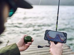 Don't waste time fishing a dry spot. Get a fish finder!