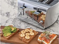 Enjoy toast for the whole family with the best 4-slice toasters