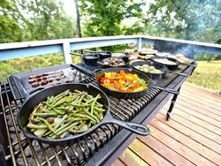 Add some tasty flair to dinner with a cast iron skillet!
