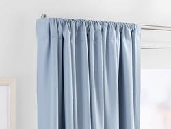 Keep curtains in place with a decorative and functional curtain rod