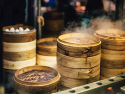 Steam your way to sweet and savory success with these bamboo steamers