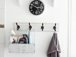Accessorize your bathroom with stylish bath towel hooks
