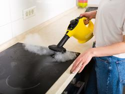 Vaporize stubborn stains and wrinkles—steam your way to a cleaner home