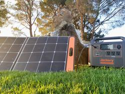 The Jackery Explorer 1500 solar generator is perfect for outdoor fun!