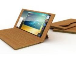 An Electronic Notebook Made from Paper