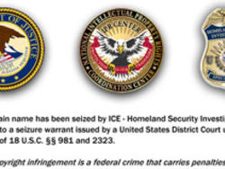 U.S. Government Seizing Domain Names Of Illegal Sites