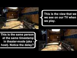 Call of Duty: Black Ops Console Lag on Display