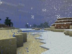Minecraft Gets Rain, Snow, Thunder and a Release Date