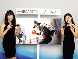 Samsung Smart TVs go Borderless, Live at DreamWorks, Act Like Computers