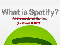 Spotify's New Update Takes Aim at iTunes