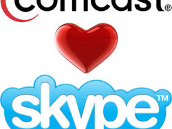 Comcast and Skype Announce Partnership for HD Video Calls