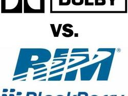 Dolby Suing RIM Over Patents; Wants to Halt BlackBerry Sales